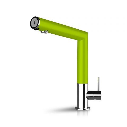 Chromé/Vert Lime