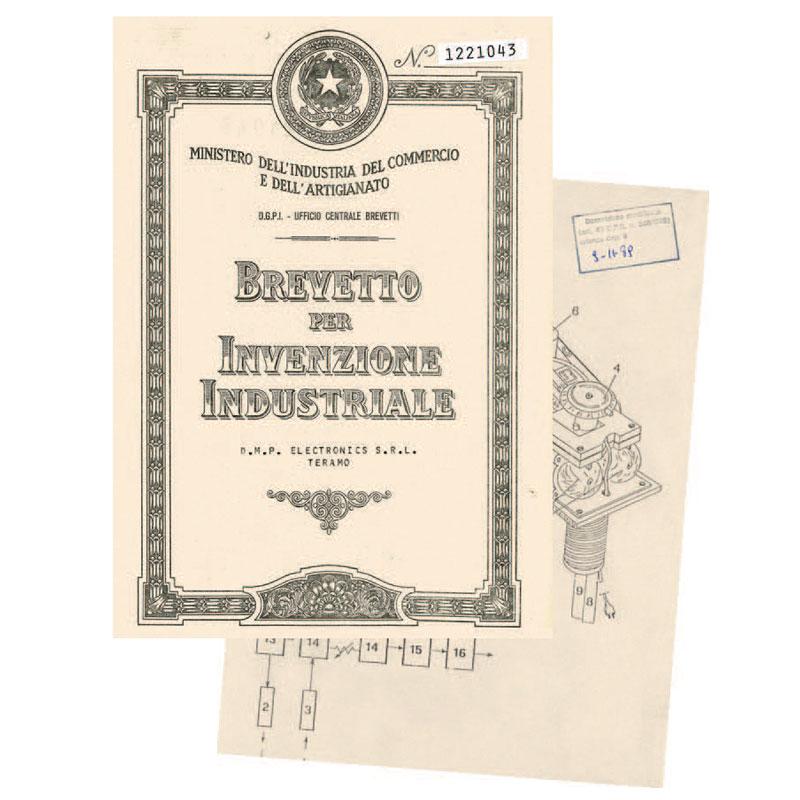 Il primo brevetto DMP Electronics