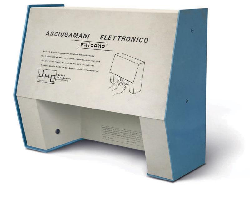 Il primo asciugamani elettronico con i primi sensori a infrarossi