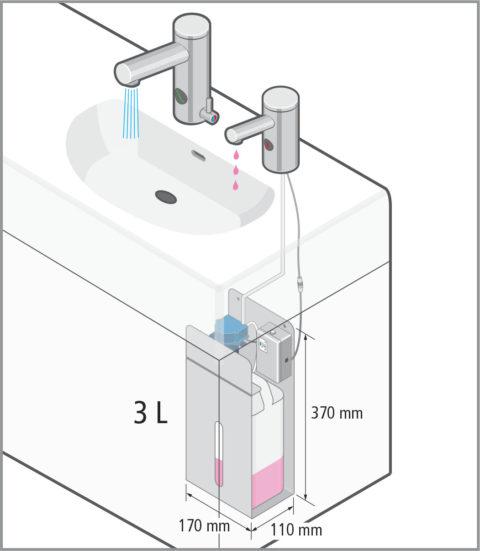 Installazione Tube Soap